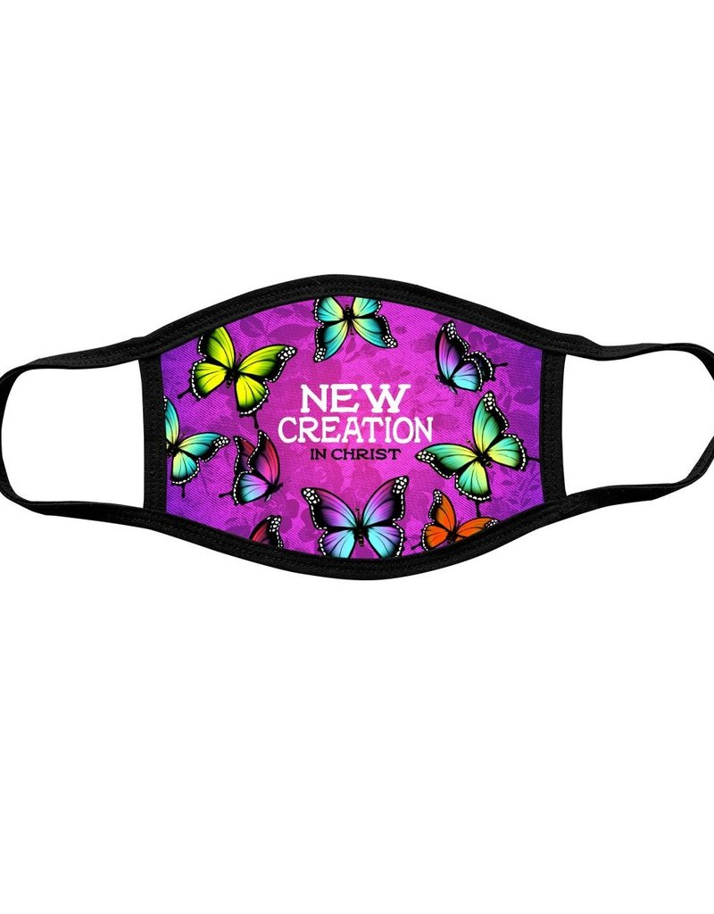 New Creation Butterfly Face Mask