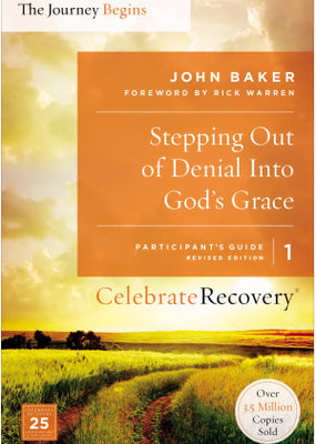 Zondervan Stepping Out of Denial Into God's Grace Participant's Guide 1
