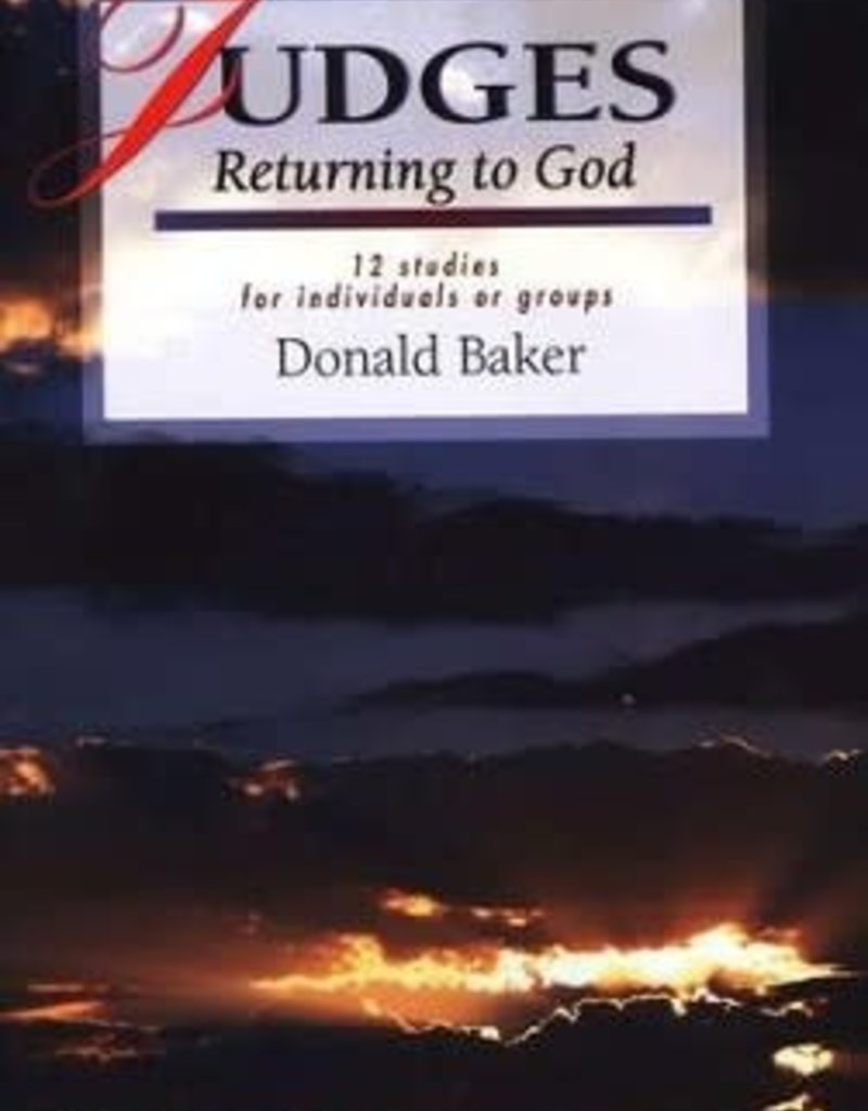 IVP Books Judges: Returning to God, LifeGuide