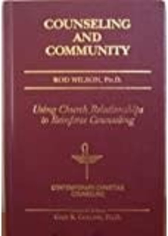 W. Publishing Group Counseling and Community
