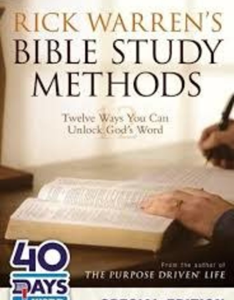 Zondervan Bible Study Methods - Rick Warren