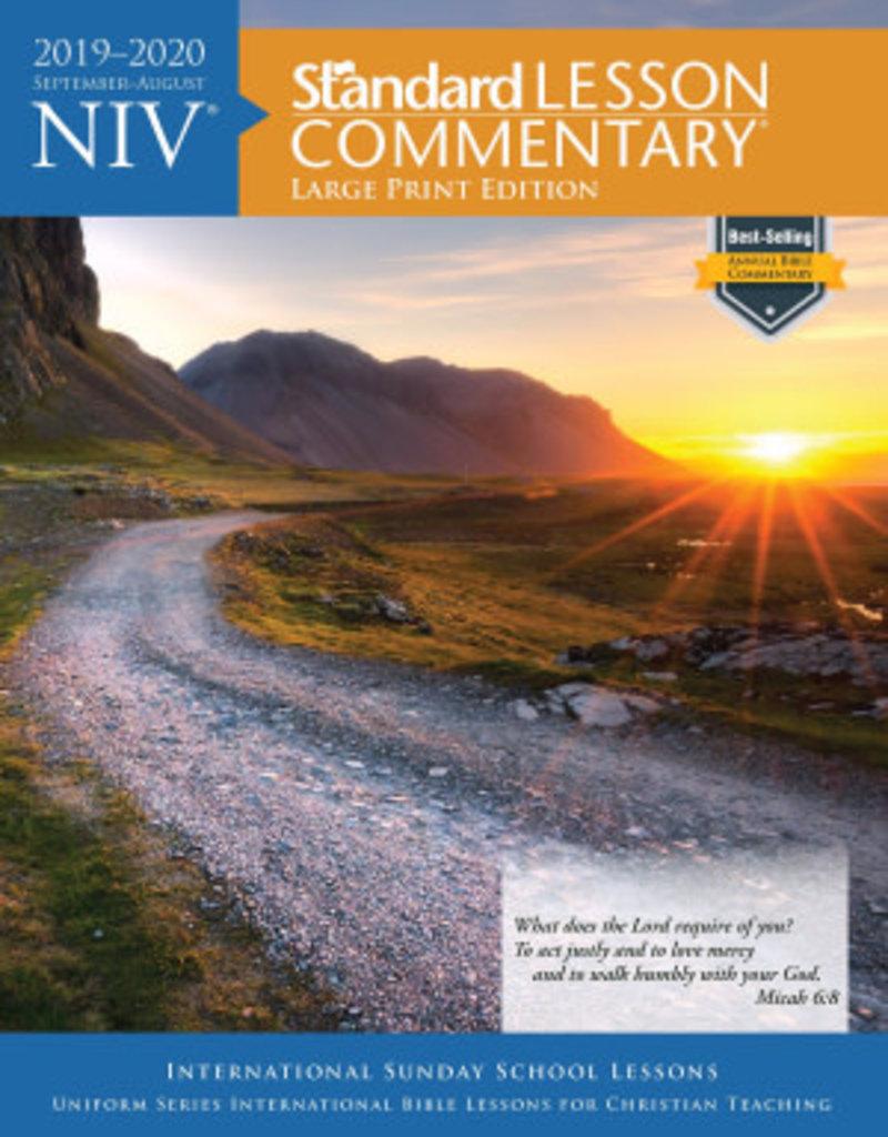 Standard Publishing NIV Standard Lesson Commentary 2019-2020-Large Print Edition