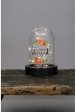 Carson Home Accents Dome Lantern-Simply Blessed LED