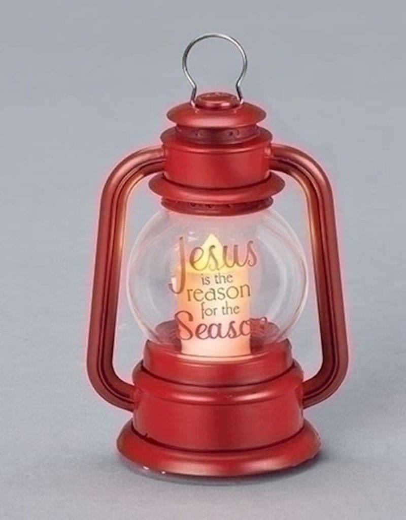 "Roman Inc. Lantern-LED-Jesus Is The Reason (3.5"")"