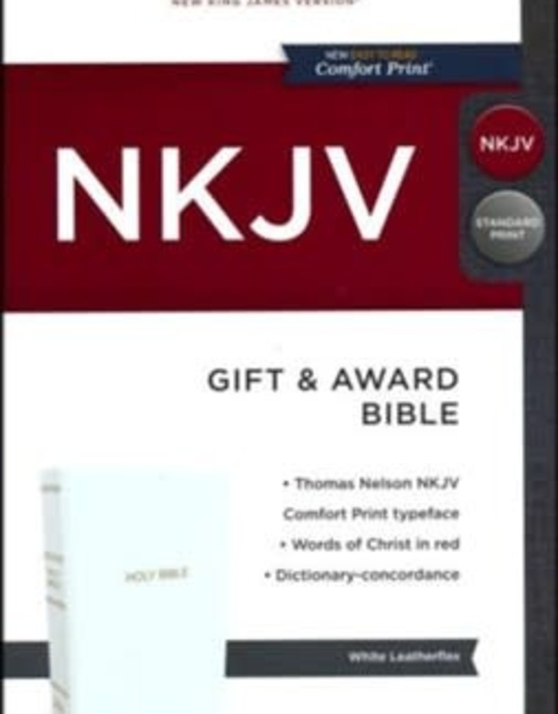 NKJV Gift and Award Bible, White