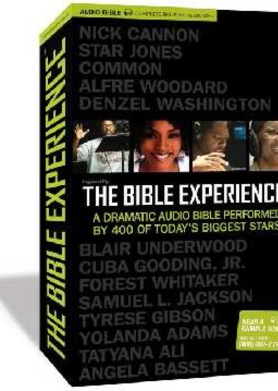 Zondervan Audio CD-Inspired By...Bible Experience-Complete (79 CD)