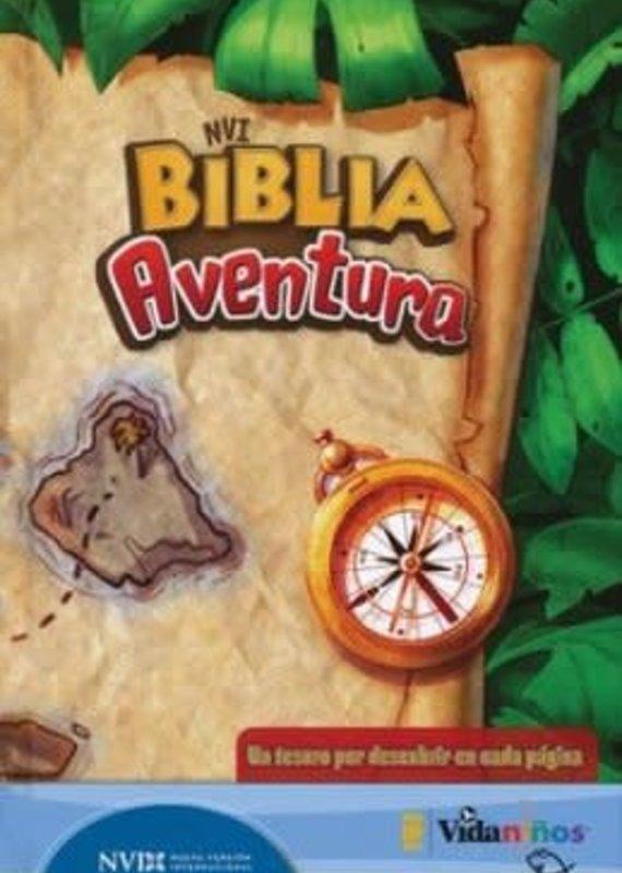 Editorial Vida NVI Biblia Aventura