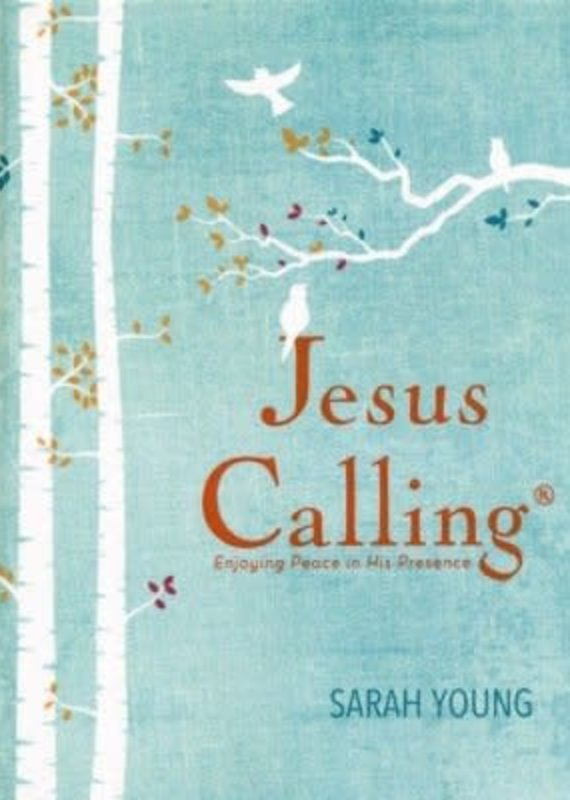 Jesus Calling, Large-Print Deluxe Edition, Hardcover