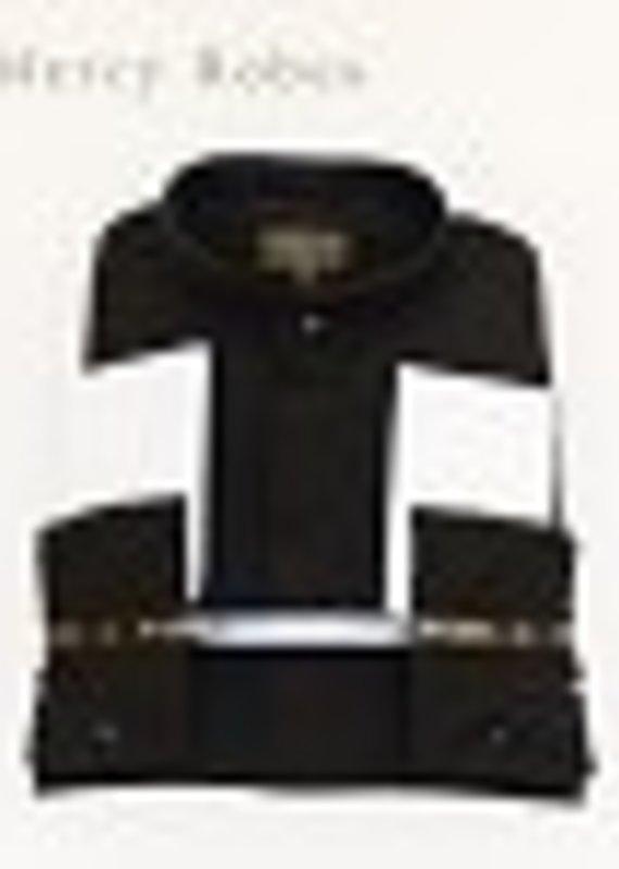 Clergy Shirt Men's Long Sleeve Black Size 17-17.5
