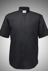 LORD'S ARMY Lord's Army Men's Short-Sleeve Tab-Collar Clergy Shirts Large 16-16.5