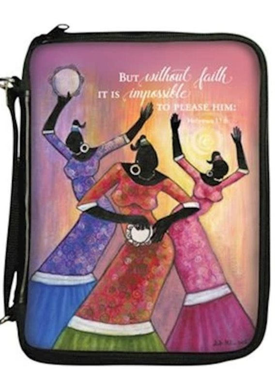 African American Expressions Bible Cover Faith