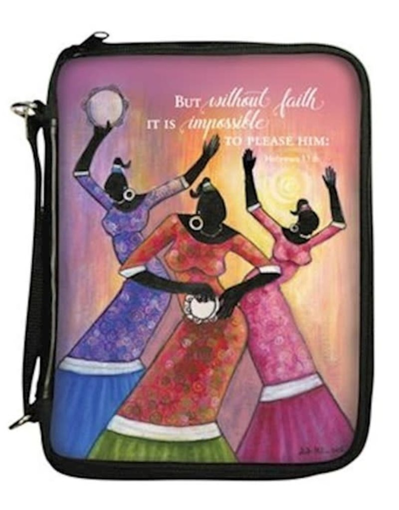 African American Expressions Bible Cover-Faith-Medium
