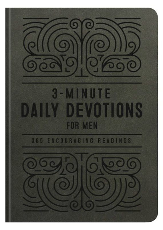 Barbour 3 Minute Daily Devotions For Men