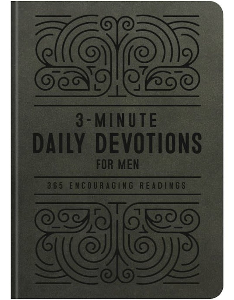 Barbour 3-Minute Daily Devotions For Men