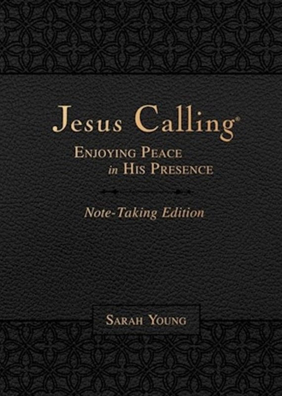 Nelson Books Jesus Calling Note-Taking Edition