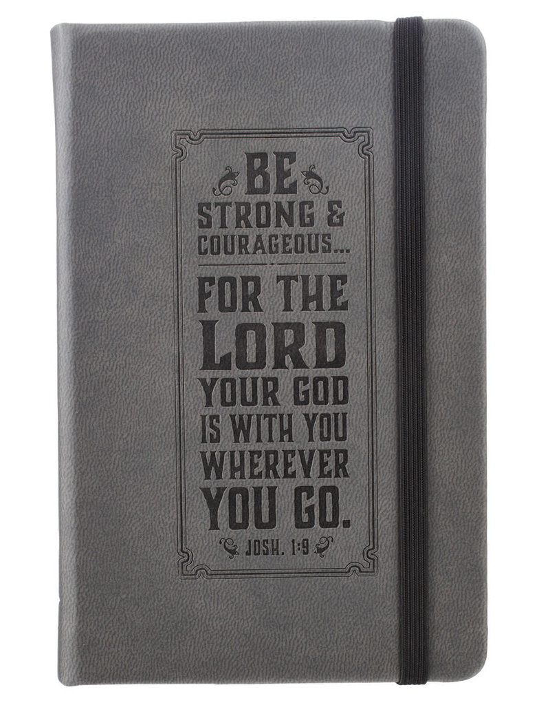 Be Strong  LuxLeather Notebook