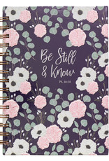 Be Still & Know Large Hardcover Wirebound Journal