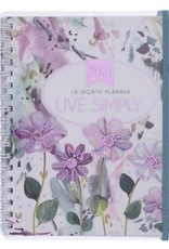 Planner-2021 Planner For Women-Live Simply (18 Month)