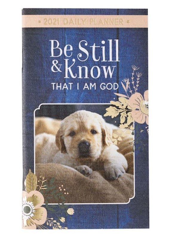 Daily Planner Be Still & Know