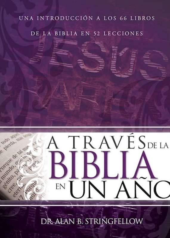 Whitaker House Span-Through The Bible In One Year- Traves de la Biblia en un Ano