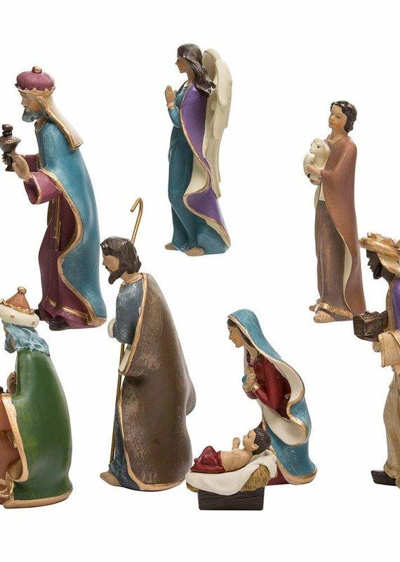 Kurt Adler Kurt Adler Resin Nativity Figurine Set
