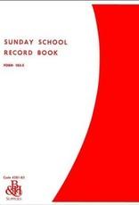 Broadman Sunday School Record Book