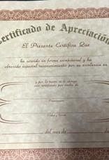 Certificate Single