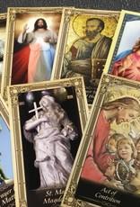 Assorted Laminated Catholic Prayer Card single