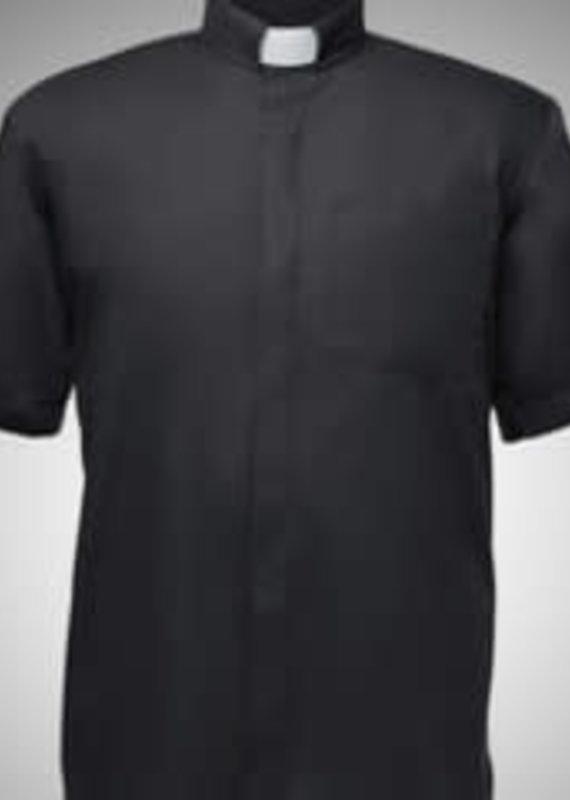 Men's Short Sleeved, tab collar shirt