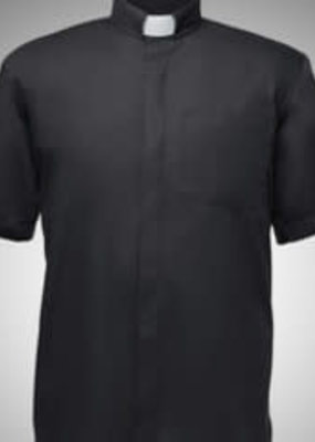 Lord's Army Men's Short-Sleeve Tab-Collar Clergy Shirts 4X-Large 20