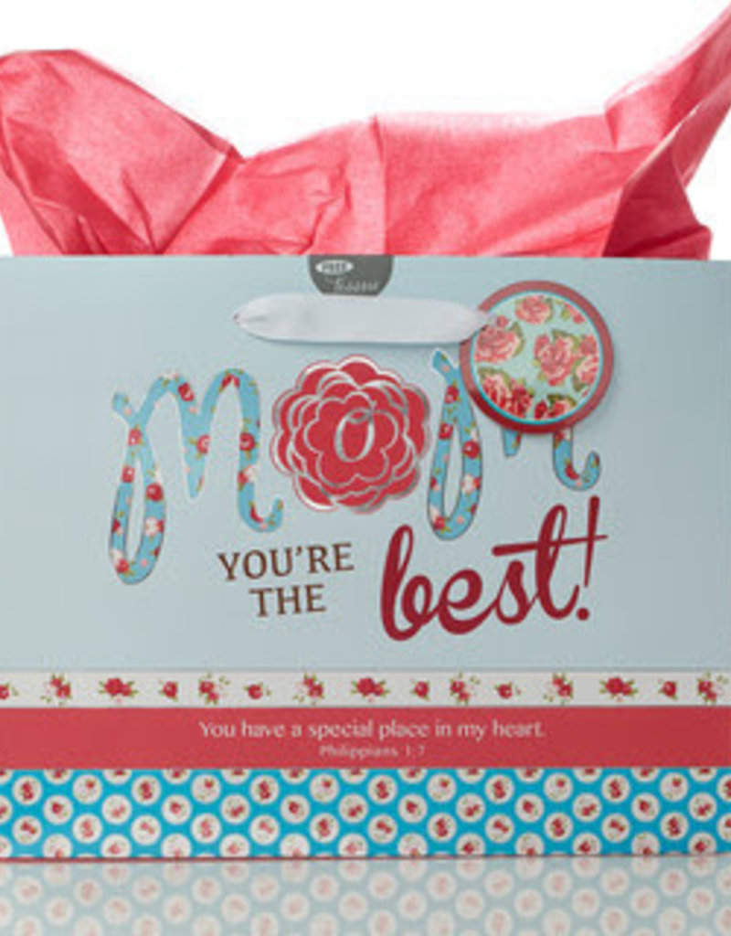Large Gift Bag - Mom You're the Best - Phil 1-7