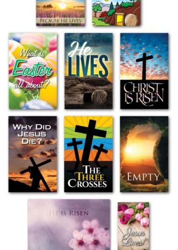 MWTB Easter Tracts Assortment