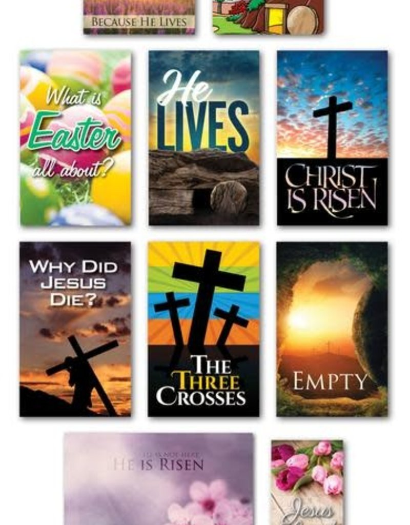 MWTB Easter Tracts Assortment NKJV