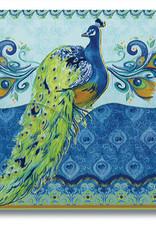 Purse Pad : Peacock, Scripture