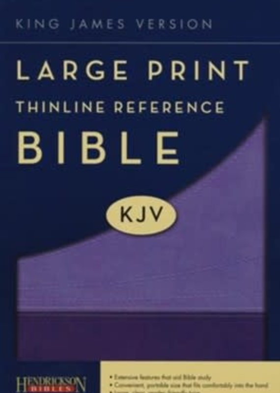 KJV Large Print Thinline Reference Bible