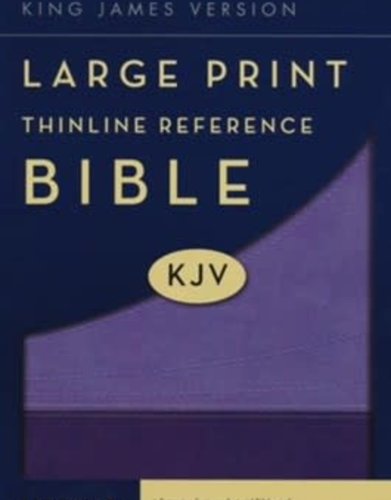 KJV Large Print Thinline Reference Bible