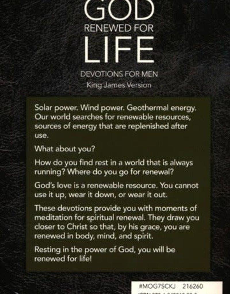 Man of God: Renewed for Life Devotion Book