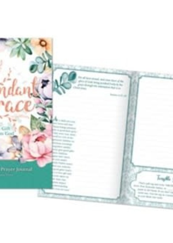Prayer Journal Abundant Grace