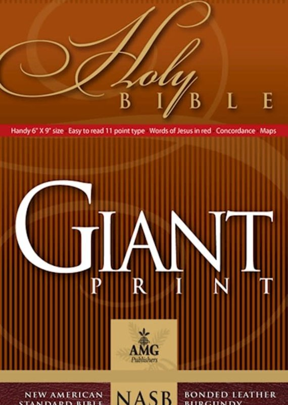 NASB Giant Print  Bible