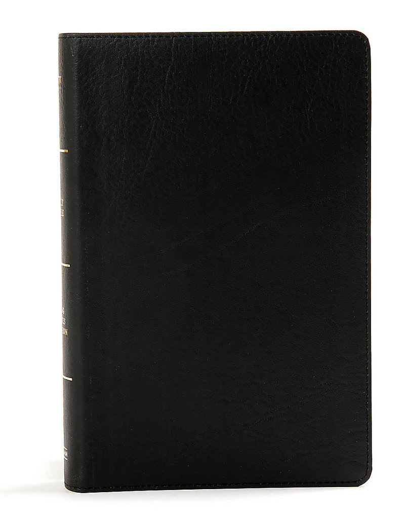 KJV Large Print Personal Size Reference Bible-Black LeatherTouch Indexed