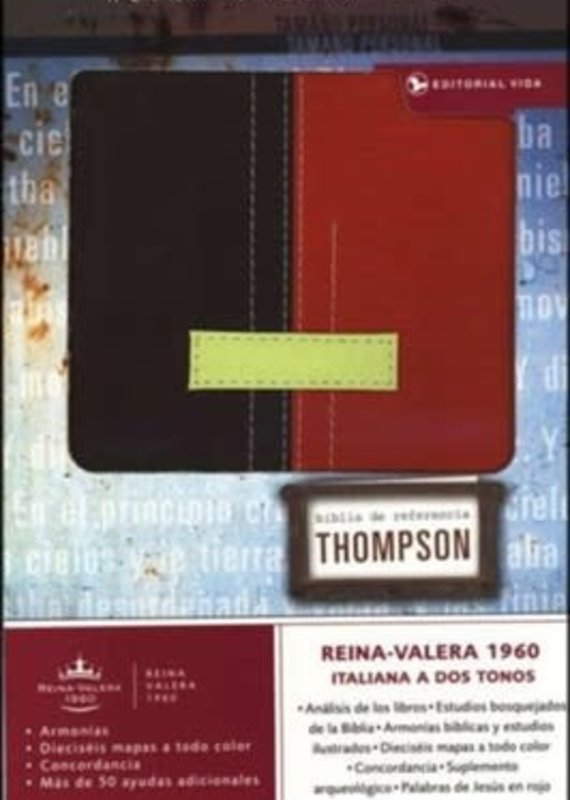 Spanish RVR 1960 Thompson Chain Reference