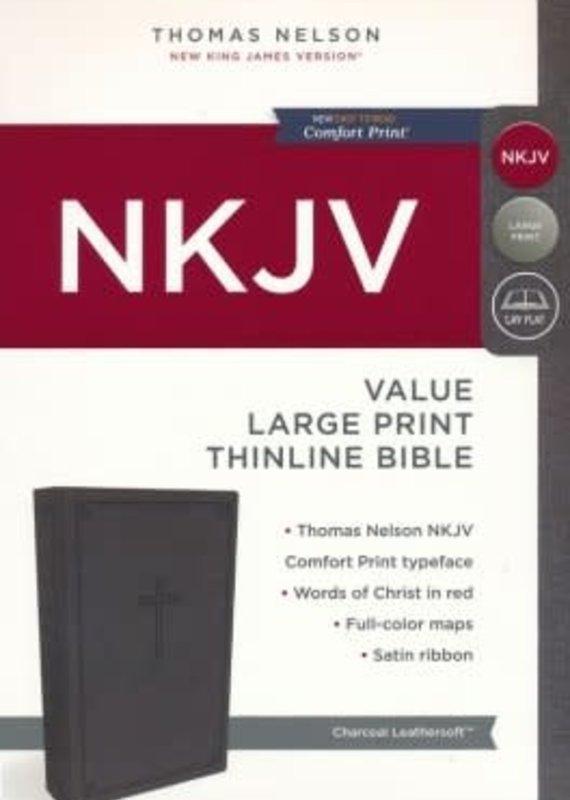 NKJV Value Thinline Bible Large Print