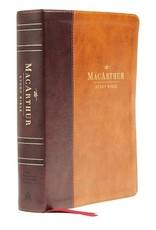 NASB MacArthur Study Bible (2nd Edition) (Comfort Print)-Mahogany Leathersoft
