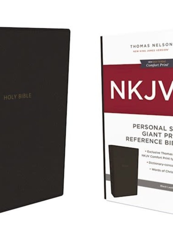 NKJV Personal Size Giant Print Reference Bible