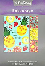 Card-Boxed-Encouragement-Citrus Illustrations (Box Of 12)