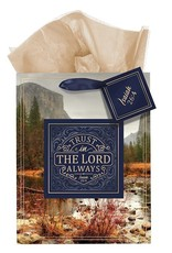 Gift Bag Medium Trust In The Lord