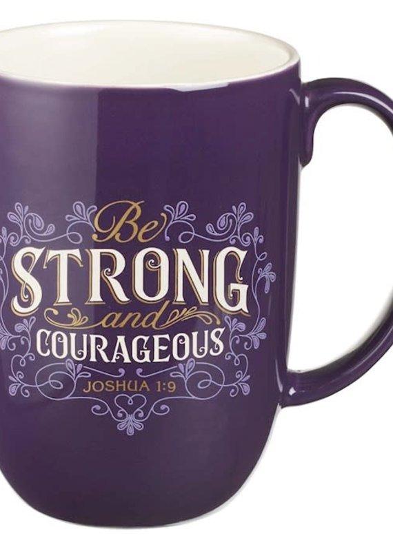 Mug Strong & Courageous
