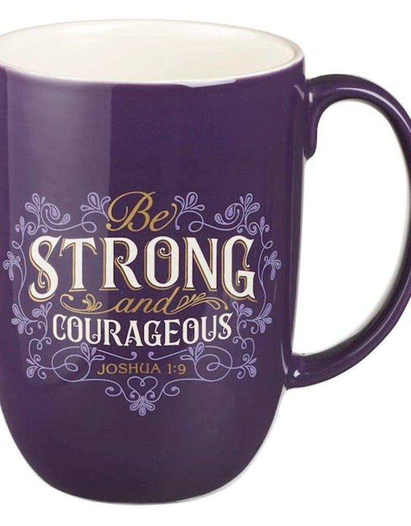Mug-Strong & Courageous