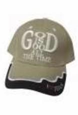 Cap-God Is Good-Khaki