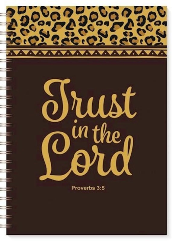 Journal-Trust In The Lord